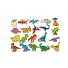 20 Piece Magnetic Dinosaur Set