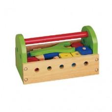 24 Piece Wooden Tool Kit