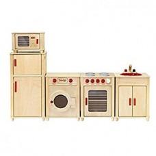 Natural Kitchen Set